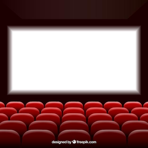 Cin ma avec cran et si ges t l charger des vecteurs gratuitement - Sieges de cinema occasion ...