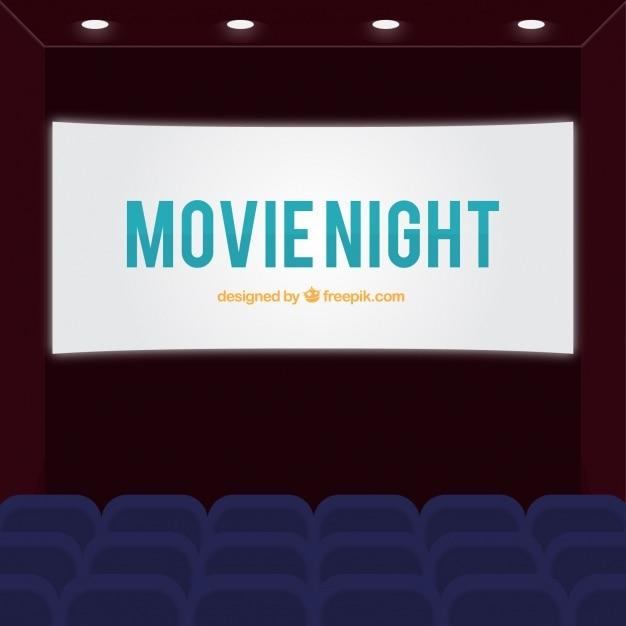 Cinema background Vecteur gratuit