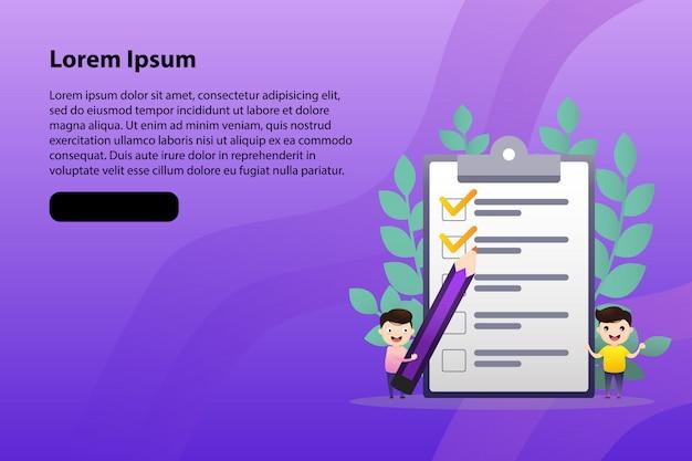 Clipbord Vecteur Premium