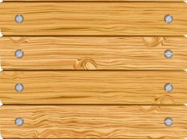 Cl ture en bois avec des planches horizontales viss es - Planche a dessin en bois ...