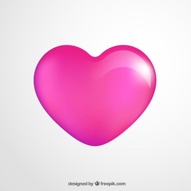 Coeur brillant Vecteur gratuit