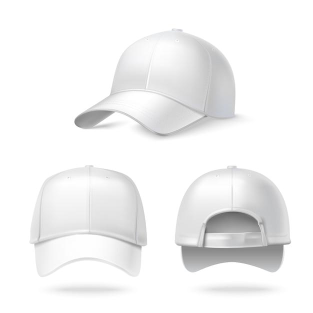 collection de chapeaux éditables Vecteur gratuit
