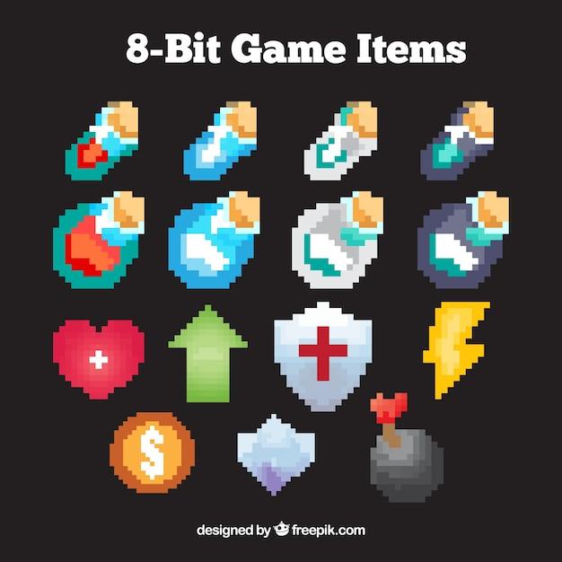 Collection de dessins de jeux vid o pix lis e - Dessin de jeux video ...
