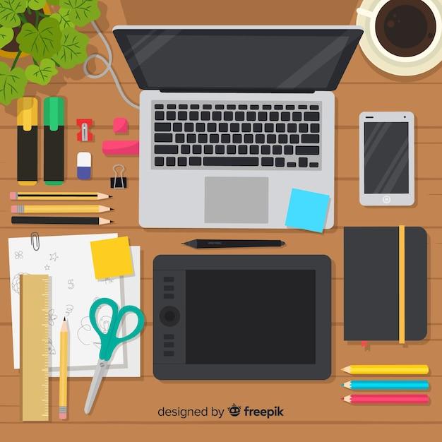 Collection d'éléments de design graphique Vecteur gratuit