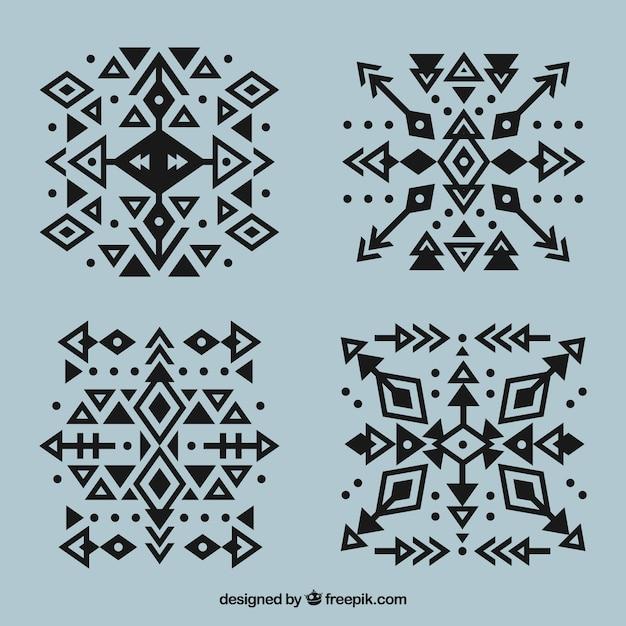 Collection Geometrique De Tatouage Geometrique Avec Des Fleches
