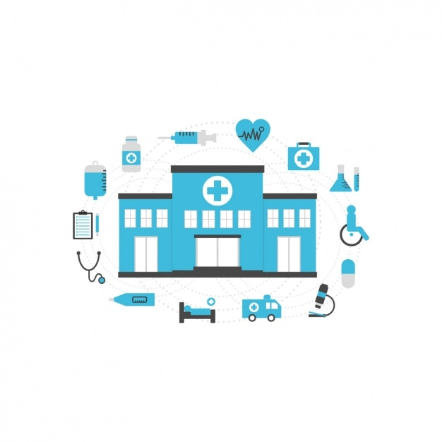 Collection D'icônes Médicales Vecteur gratuit