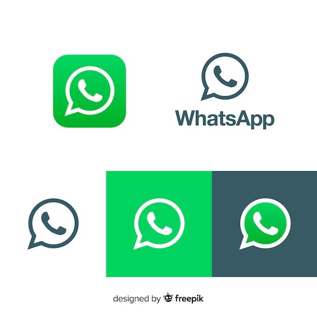 Collection D'icônes Whatsapp Vecteur gratuit
