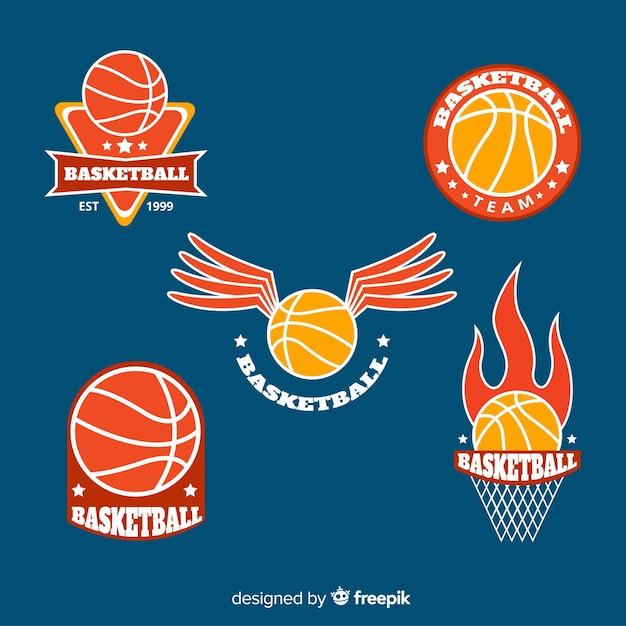 Collection de logo sport moderne Vecteur gratuit