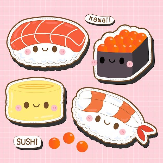 kawaii sushis