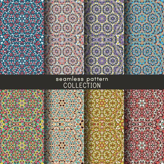 Collection De Motifs Geometriques Sans Soudure Ensemble De Fond De
