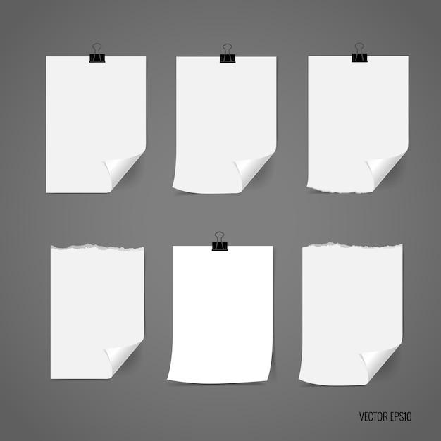 Collection de papiers d'identité Vecteur gratuit