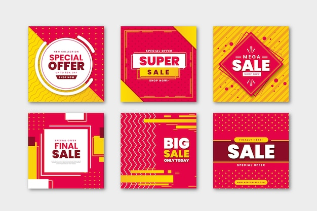 Collection poste après vente Vecteur gratuit