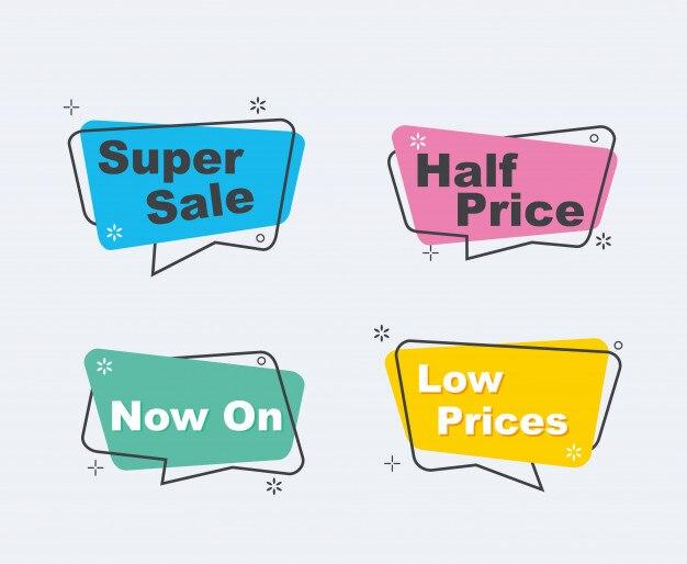 Collection de super vente Vecteur Premium