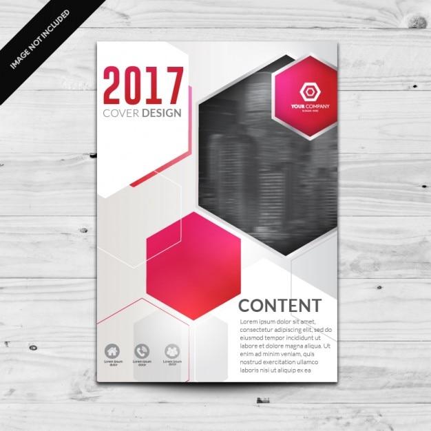 Coloré brochure modèle Vecteur gratuit