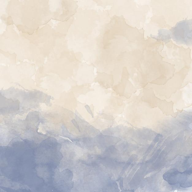 Coloré Fond D'aquarelle Vecteur gratuit