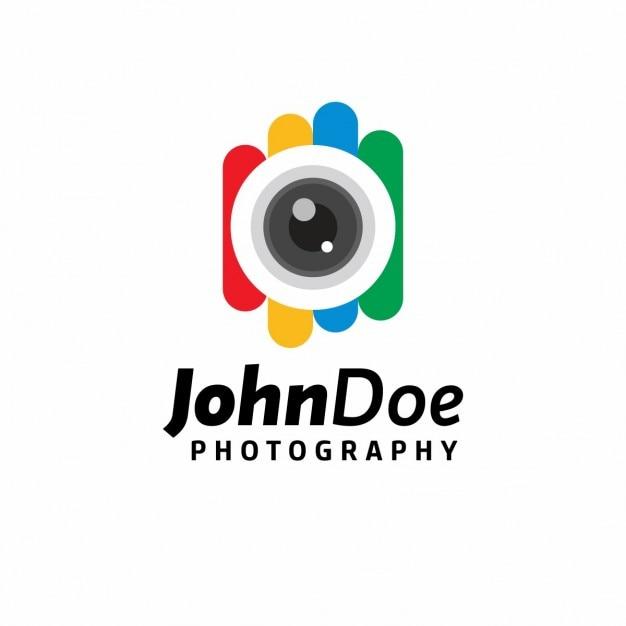 Colorful Modèle De La Photographie Vecteur gratuit