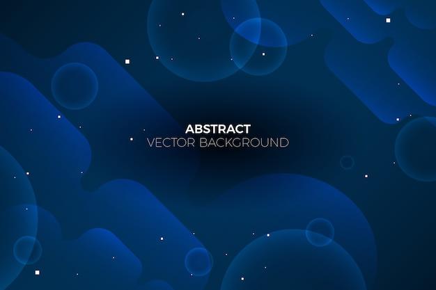 Concept Abstrait De Papier Peint Bleu Classique Vecteur gratuit