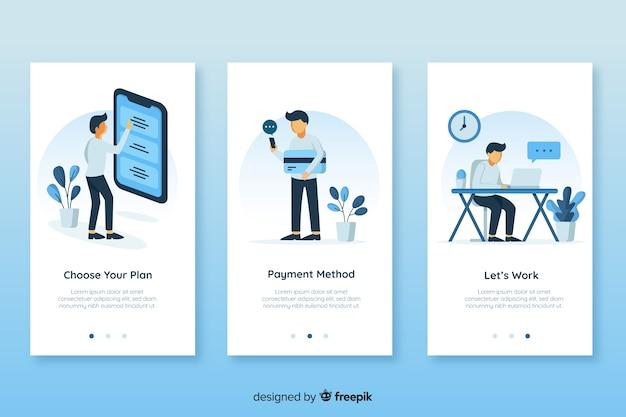 Concept D'application Mobile Vecteur gratuit
