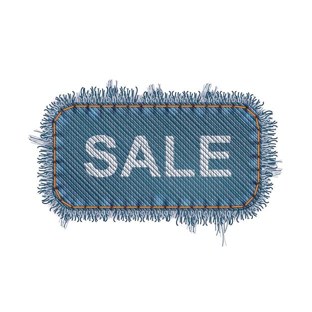 Concept de bannière de vente Vecteur Premium