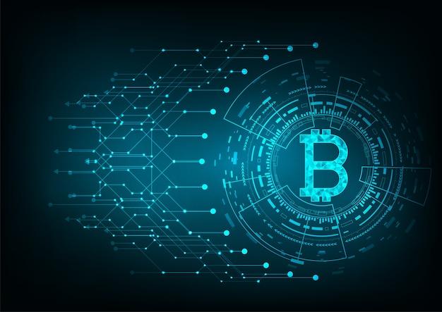Concept De Bitcoin Vecteur Premium