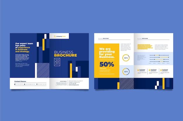 Concept De Brochure D'entreprise Vecteur gratuit