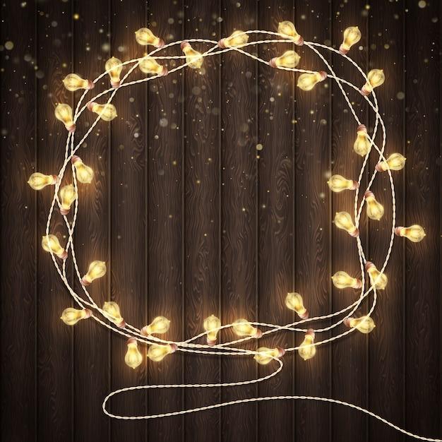 Concept De Cartes De Voeux De Vacances De Noël Et Nouvel An. Vecteur Premium
