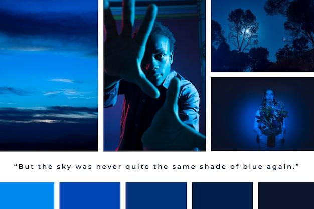 Concept De Collage De Photos Vecteur gratuit