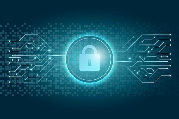 Concept de cybersécurité Vecteur gratuit