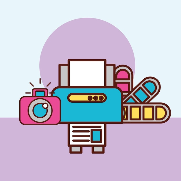 Concept De Design Graphique Vecteur Premium