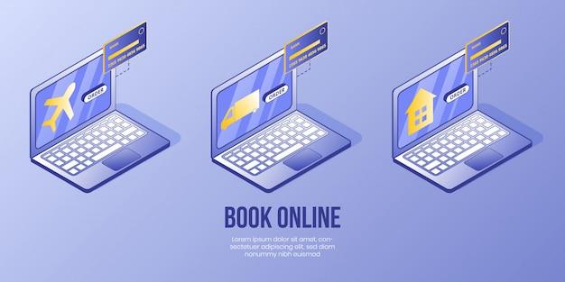 Concept de design isométrique numérique Vecteur Premium