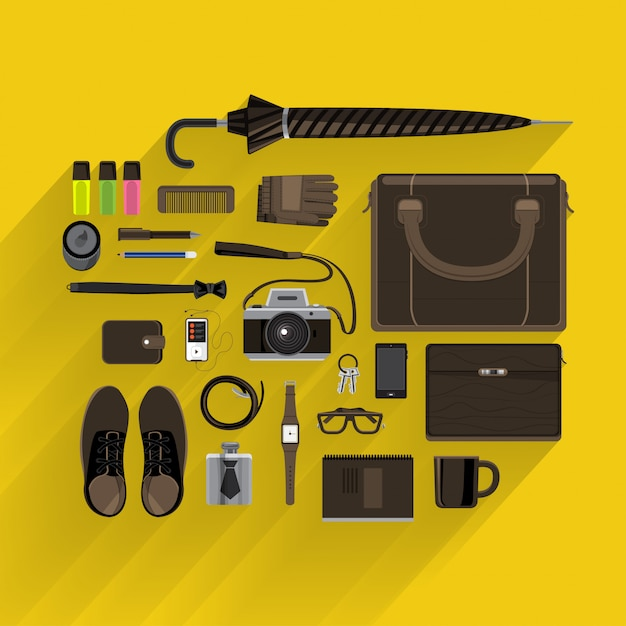 Concept De Design Plat Vecteur Premium