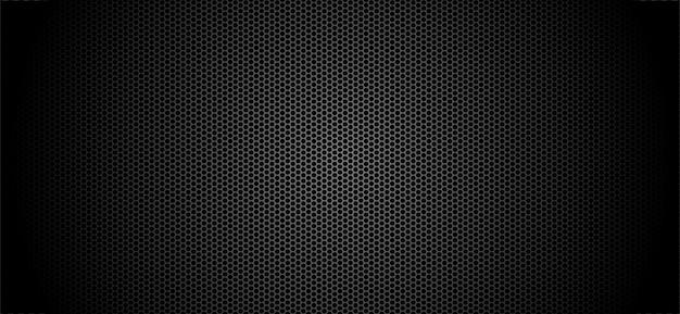 Concept de fond abstrait technologie cercle trou ombre métallique sur la conception future de hi tech Vecteur Premium