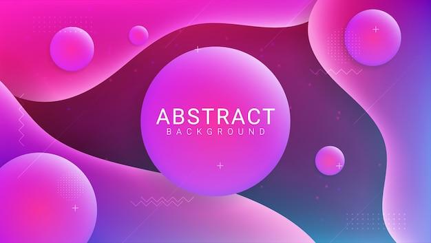 Concept De Fond Abstrait Vecteur Premium