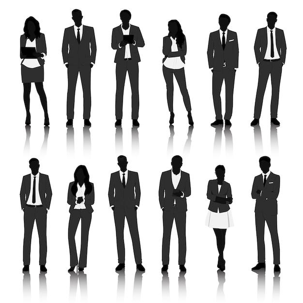 Concept de gens d'affaires illustration ui Vecteur gratuit