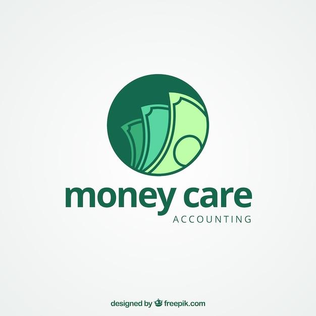Concept de logo d'argent moderne Vecteur gratuit