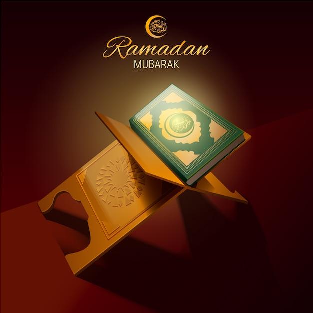 Concept De Ramadan Réaliste Vecteur gratuit