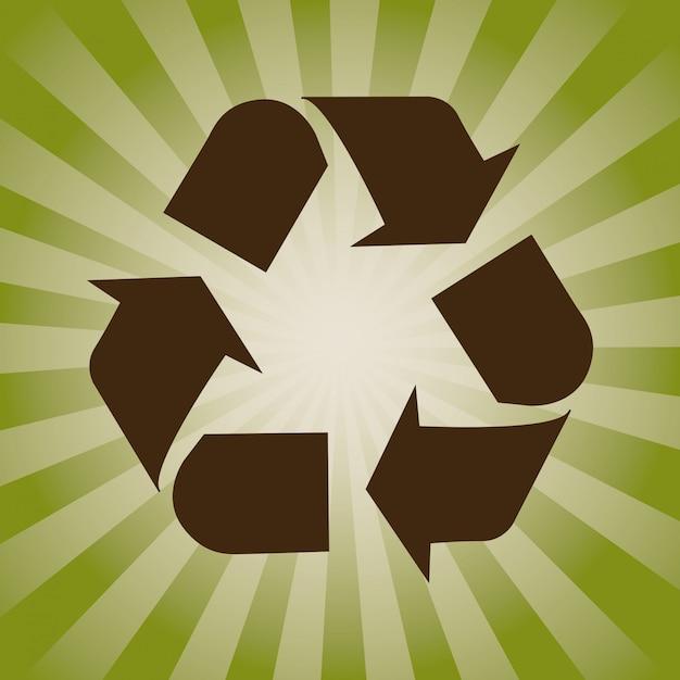 Concept de recyclage Vecteur gratuit