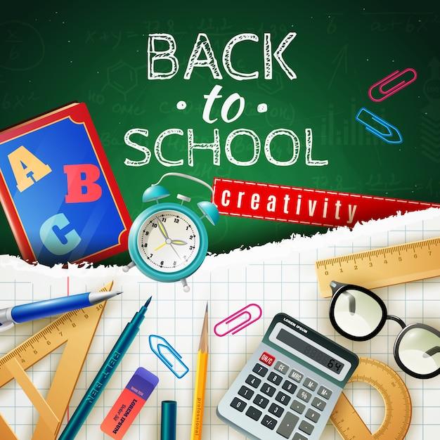 Concept De Retour à L'école Vecteur gratuit