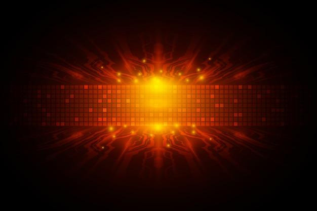 Concept de technologie de vitesse numérique vectorielle Vecteur Premium