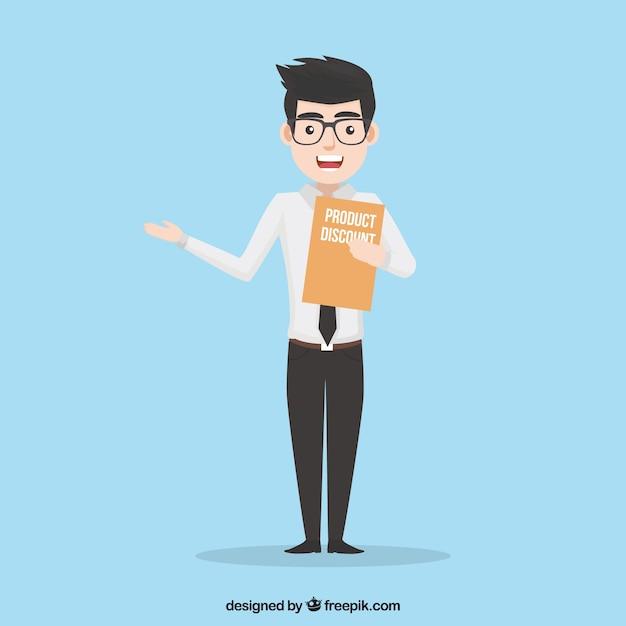Concept De Vendeur Vecteur gratuit