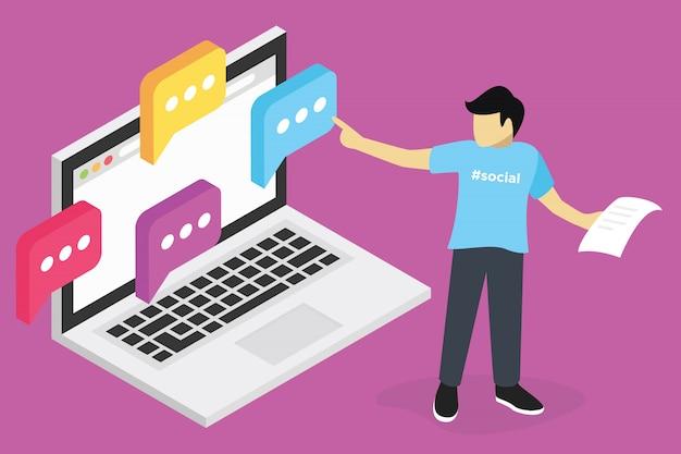 Concept De Webinaire, Formation En Ligne Seo Marketing, Formation En Informatique, Lieu De Travail E-learning Vecteur Premium