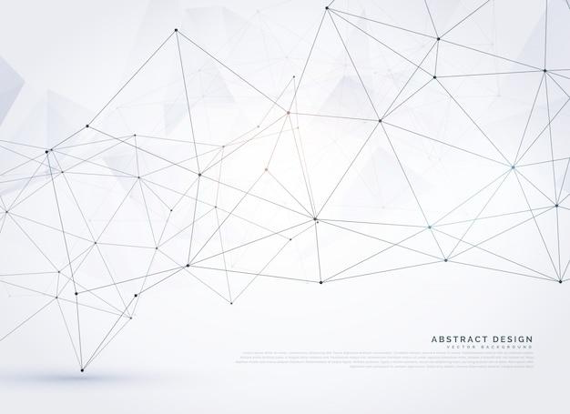 Conception Abstraite D'arrière-plan En Maille Polychrome Numérique Vecteur gratuit