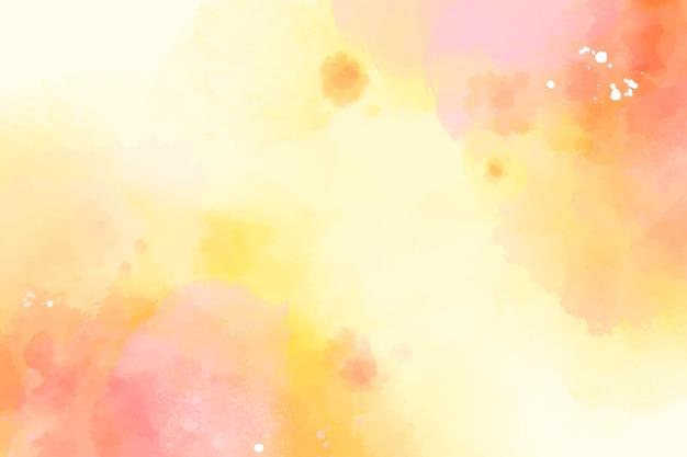Conception Aquarelle Fond Coloré Vecteur gratuit