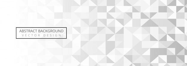 Conception De Bannière Géométrique Moderne Vecteur gratuit