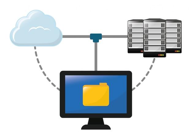 Conception de base de données, Vecteur Premium