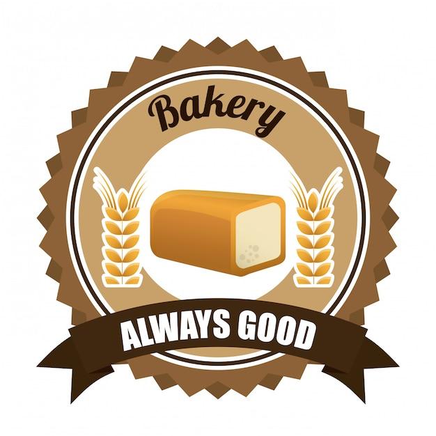 Conception De La Boulangerie Vecteur gratuit