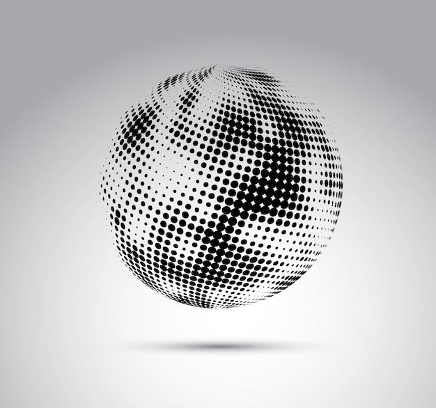 Conception de bulle Vecteur Premium