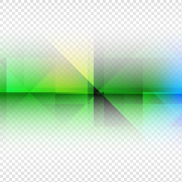 Conception Colorée D'arrière-plan Transparent Polygonale Vecteur gratuit