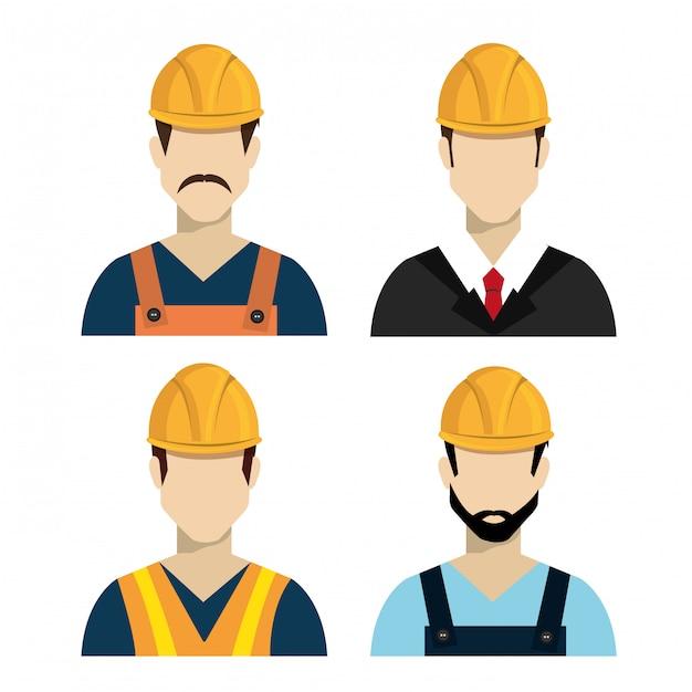Conception De Construction Vecteur gratuit