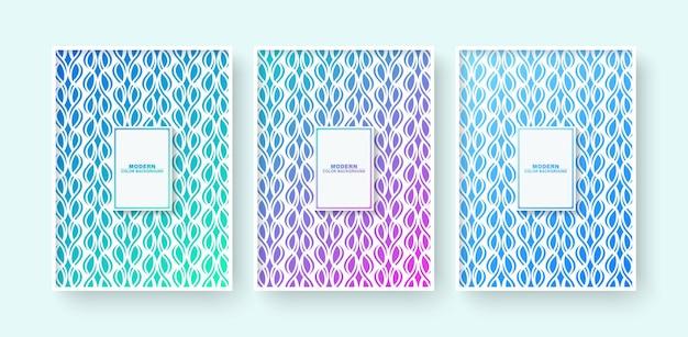 Conception De Couverture Moderne Minimale Avec Ligne Géométrique Abstraite Vecteur Premium
